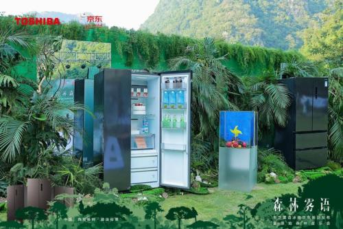 东芝雾语冰箱