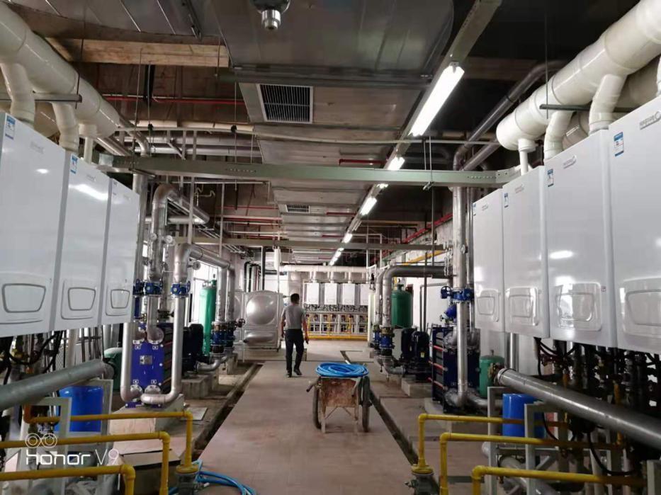 超大单体小商供暖项目落地无锡 喜德瑞再创行业新纪录